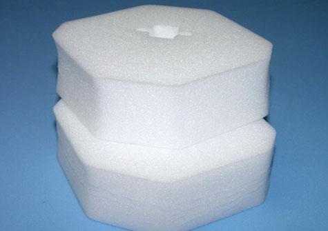 die cut foam object