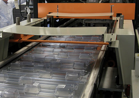 in line thermoforming machine at Janco, Inc.